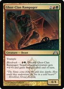 Magic the Gathering Gatecrash Single Ghor-Clan Rampager NEAR MINT (NM)