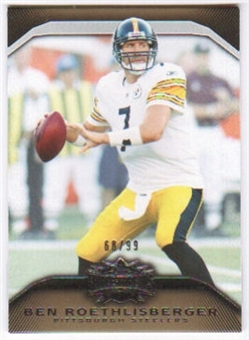 2010  Topps Triple Threads Gold #44 Ben Roethlisberger /99