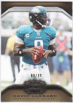 2010  Topps Triple Threads Gold #78 David Garrard /99