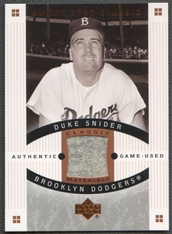 2005 Sweet Spot Classic #SN Duke Snider Materials Pants