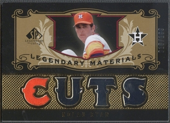 2007 SP Legendary Cuts #NR2 Nolan Ryan Legendary Materials Jersey #016/199