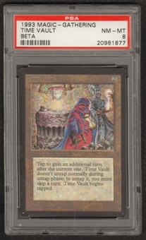 Magic the Gathering Beta Single Time Vault PSA 8