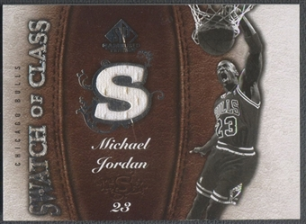 2007/08 SP Game Used #SCMJ Michael Jordan Swatch of Class Jersey