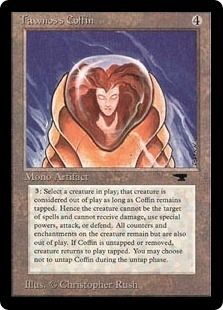 Magic the Gathering Antiquities Single Tawnos's Coffin LIGHT PLAY (NM)
