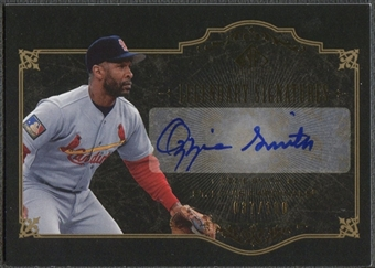 2007 SP Legendary Cuts #OS2 Ozzie Smith Legendary Signatures Auto #037/100