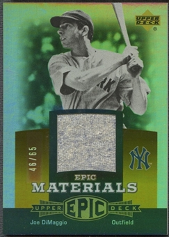 2006 Upper Deck Epic #JD1 Joe DiMaggio Materials Dark Orange Pants #46/65