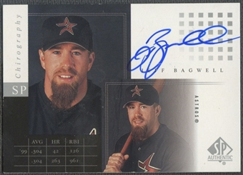 2000 SP Authentic Chirography #JB Jeff Bagwell Auto