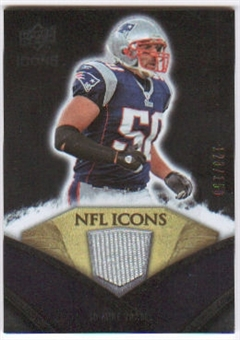 2008 Upper Deck Icons NFL Icons Jersey Silver #NFL38 Mike Vrabel /150