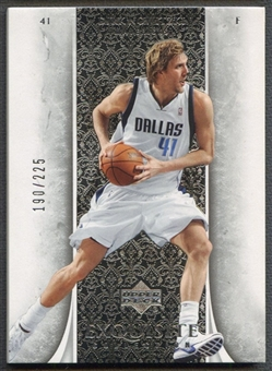 2005/06 Exquisite Collection #7 Dirk Nowitzki #190/225