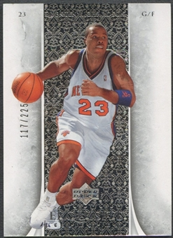 2005/06 Exquisite Collection #27 Quentin Richardson #117/225