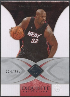 2006/07 Exquisite Collection #22 Shaquille O'Neal #224/225