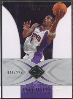 2006/07 Exquisite Collection #34 Amare Stoudemire #076/225