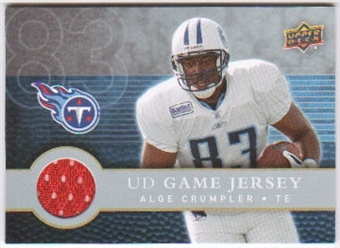 2008 Upper Deck First Edition Jerseys #FGJAC Alge Crumpler