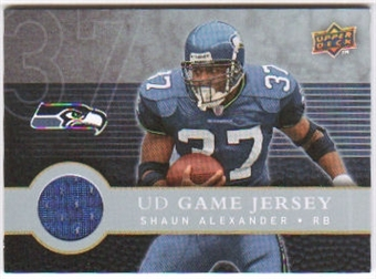 2008 Upper Deck First Edition Jerseys #FGJAL Shaun Alexander