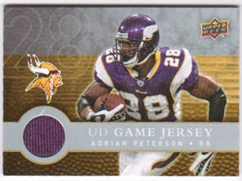 2008 Upper Deck First Edition Jerseys #FGJAP Adrian Peterson