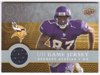 2008 Upper Deck First Edition Jerseys #FGJBB Bernard Berrian