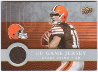 2008 Upper Deck First Edition Jerseys #FGJBQ Brady Quinn