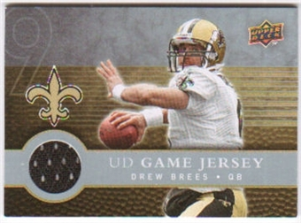 2008 Upper Deck First Edition Jerseys #FGJBR Drew Brees