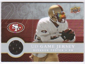 2008 Upper Deck First Edition Jerseys #FGJDF DeShaun Foster
