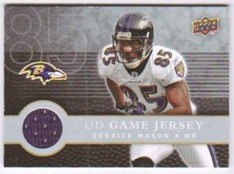 2008 Upper Deck First Edition Jerseys #FGJDM Derrick Mason