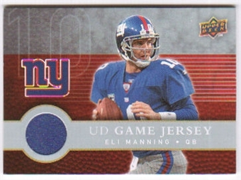 2008 Upper Deck First Edition Jerseys #FGJEM Eli Manning