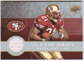2008 Upper Deck First Edition Jerseys #FGJFG Frank Gore