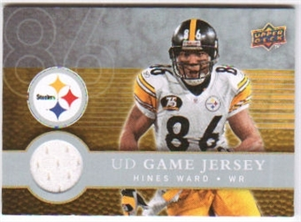2008 Upper Deck First Edition Jerseys #FGJHW Hines Ward