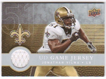2008 Upper Deck First Edition Jerseys #FGJJV Jonathan Vilma