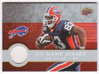 2008 Upper Deck First Edition Jerseys #FGJLE Lee Evans