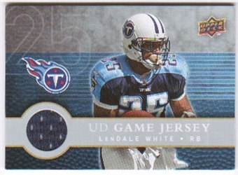 2008 Upper Deck First Edition Jerseys #FGJLW LenDale White