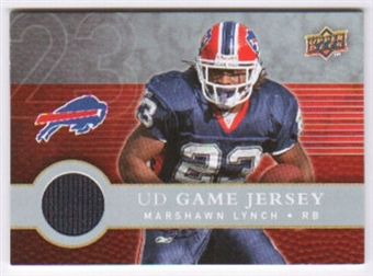 2008 Upper Deck First Edition Jerseys #FGJLY Marshawn Lynch