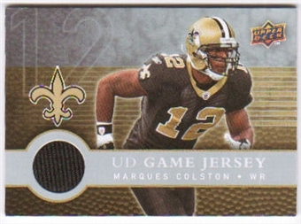 2008 Upper Deck First Edition Jerseys #FGJMA Marques Colston