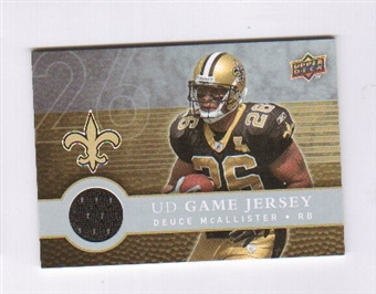 2008 Upper Deck First Edition Jerseys #FGJMC Deuce McAllister