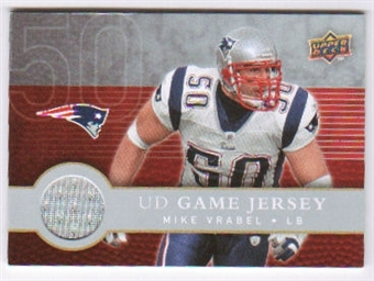 2008 Upper Deck First Edition Jerseys #FGJMV Mike Vrabel
