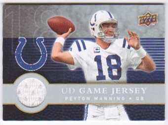 2008 Upper Deck First Edition Jerseys #FGJPM Peyton Manning