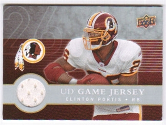 2008 Upper Deck First Edition Jerseys #FGJPO Clinton Portis