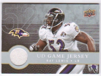 2008 Upper Deck First Edition Jerseys #FGJRL Ray Lewis