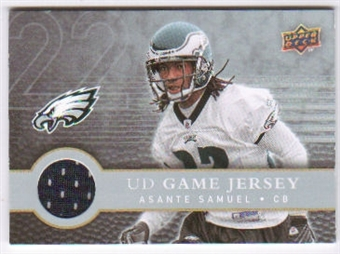 2008 Upper Deck First Edition Jerseys #FGJSA Asante Samuel