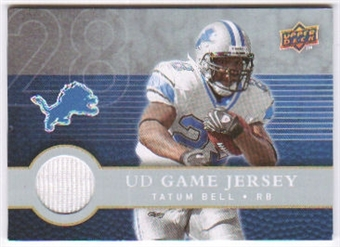 2008 Upper Deck First Edition Jerseys #FGJTA Tatum Bell