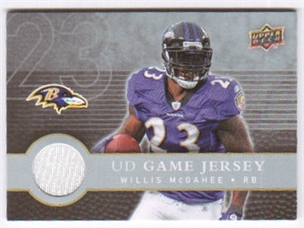 2008 Upper Deck First Edition Jerseys #FGJWM Willis McGahee
