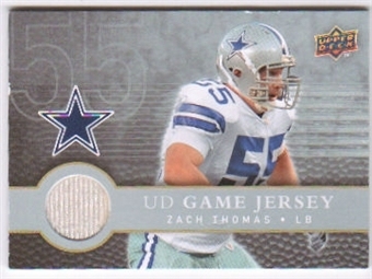 2008 Upper Deck First Edition Jerseys #FGJZT Zach Thomas