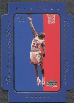 1996/97 Upper Deck #RC13 Michael Jordan Rookie of the Year Collection