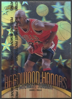 1998/99 Finest #H1 Michael Jordan Hardwood Honors