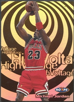 1997/98 Hoops #HV14 Michael Jordan High Voltage