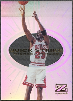 1997/98 Z-Force #5 Michael Jordan Quick Strike