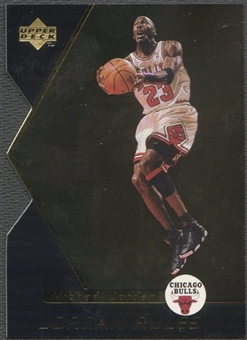 1998/99 Upper Deck Ovation #J13 Michael Jordan Jordan Rules