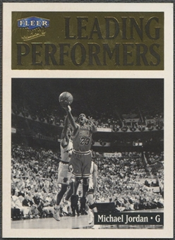 1998/99 Ultra #4 Michael Jordan Leading Performers