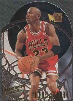 1995/96 Metal #4 Michael Jordan Maximum Metal
