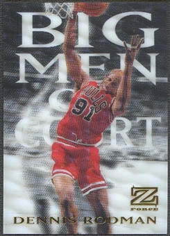 1997/98 Z-Force #14 Dennis Rodman Big Men on Court