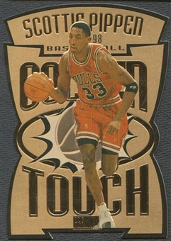 1997/98 SkyBox Premium #GT14 Scottie Pippen Golden Touch